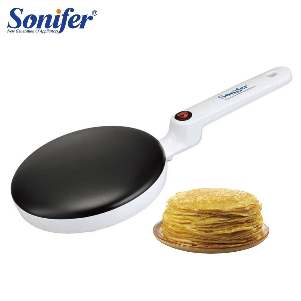 Crêpière électrique Machine à crêpes Pizza plaque de cuisson antiadhésive plaque de cuisson machine à gâteau cuisine outils de cuisson sonifer