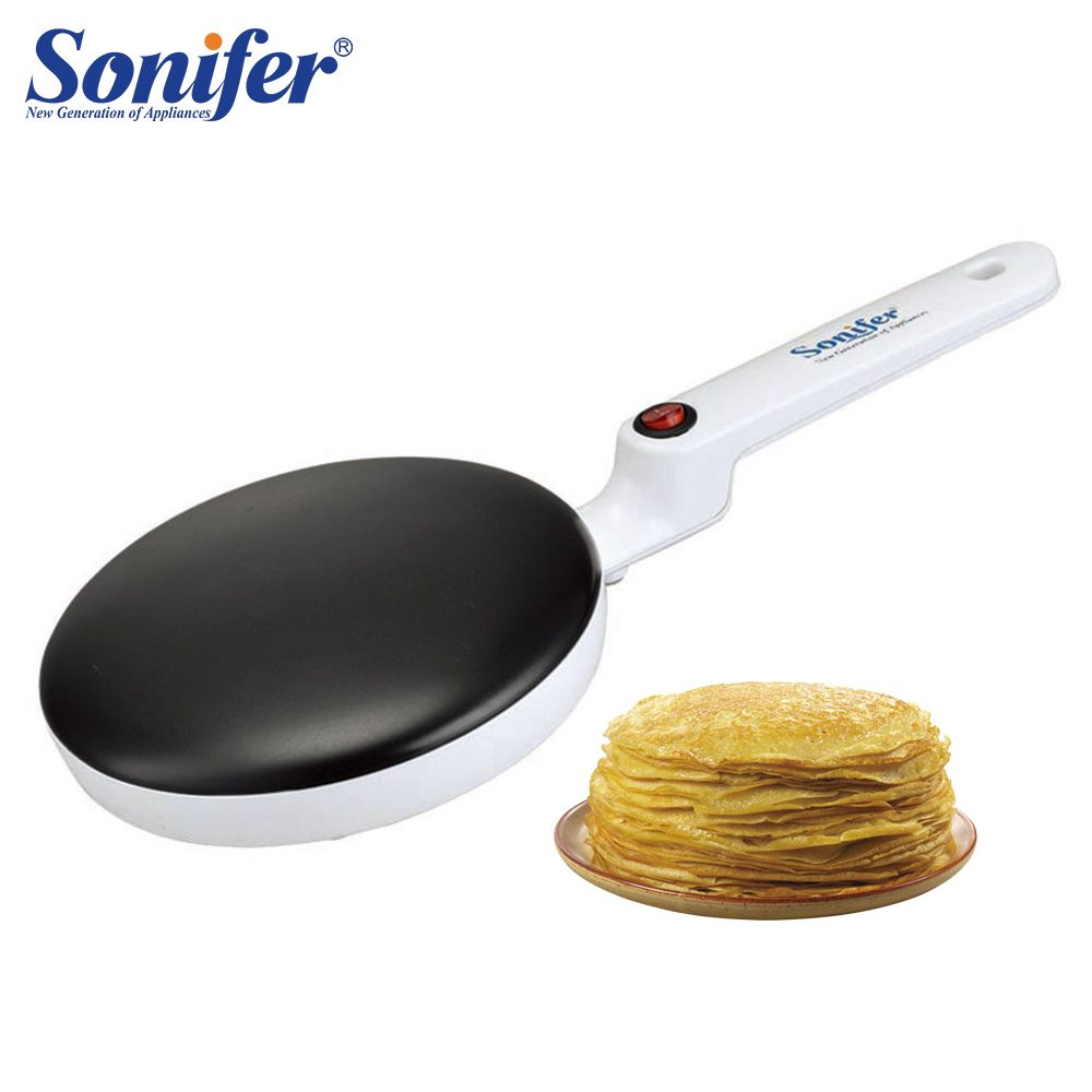 Crêpière électrique Pizza crêpe Machine antiadhésive plaque de cuisson casserole gâteau Machine cuisine cuisson outils Sonifer