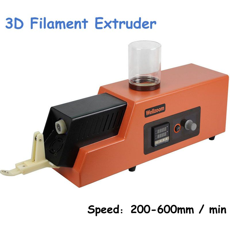 Upgraded 3D Filament Extruder Machine Speed Adjustable 3D Filament Extruder Machine