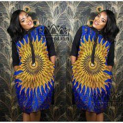 2018 nueva moda imprimir dashiki mujeres camisa collar elástico patrón de color para la señora
