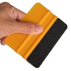 EHDIS Oro 3 M Felt Squeegee coche herramientas de limpieza del hogar Limpiador de vinilo de fibra de carbono hoja del coche película del abrigo del vinilo ventana tintes herramientas