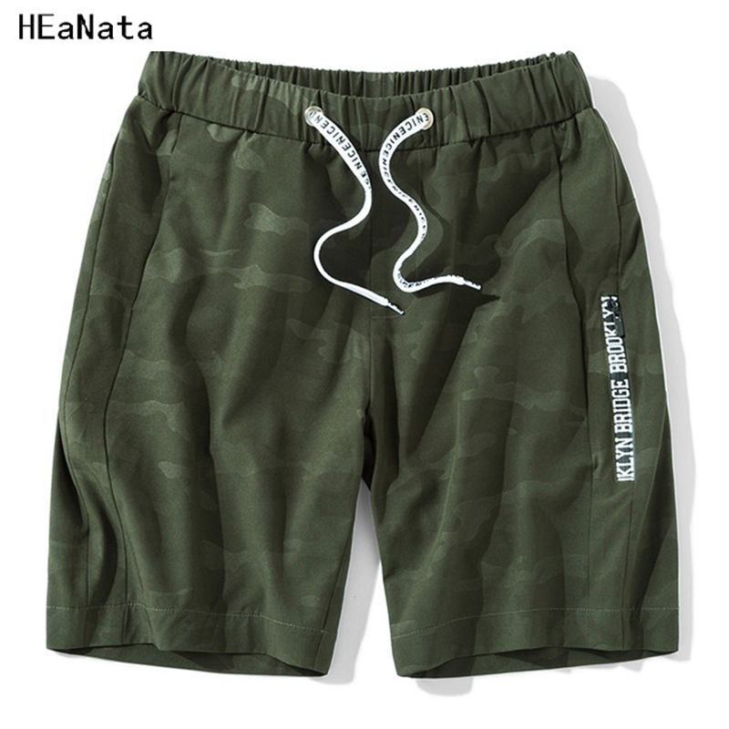 2018 Mens Short Sweatpants Summer Men Casual Shorts Camouflage Bermuda Fashion Board Gyms Fitness Bodybuilding Streewear Shorts