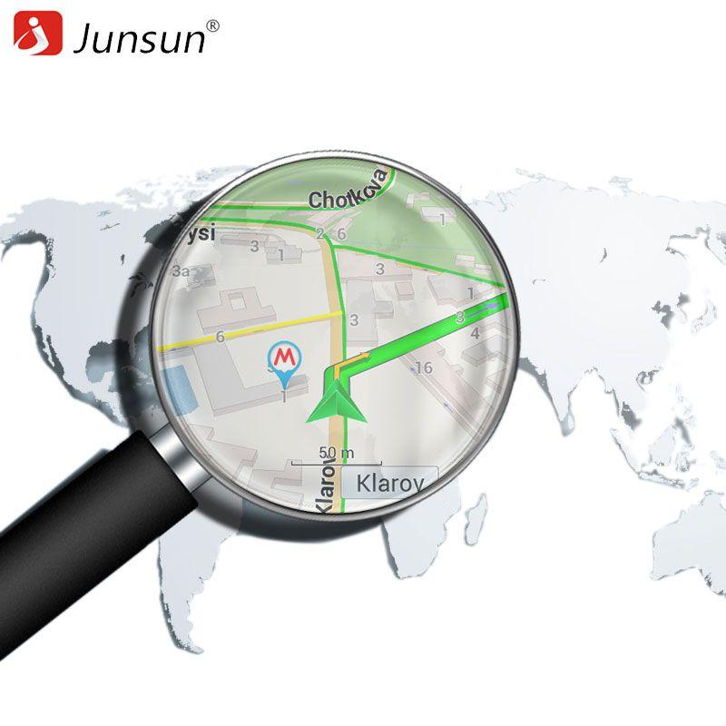 About GPS Navigaton Maps -- Junsun