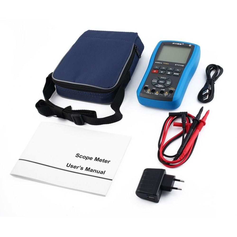 Scope Digital Multimeters Mini Oscilloscope Intelligent Volt Multitester