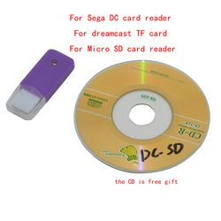 For Sega DC card reader For dreamcast TF card  For Micro SD card reader For  DC card reader