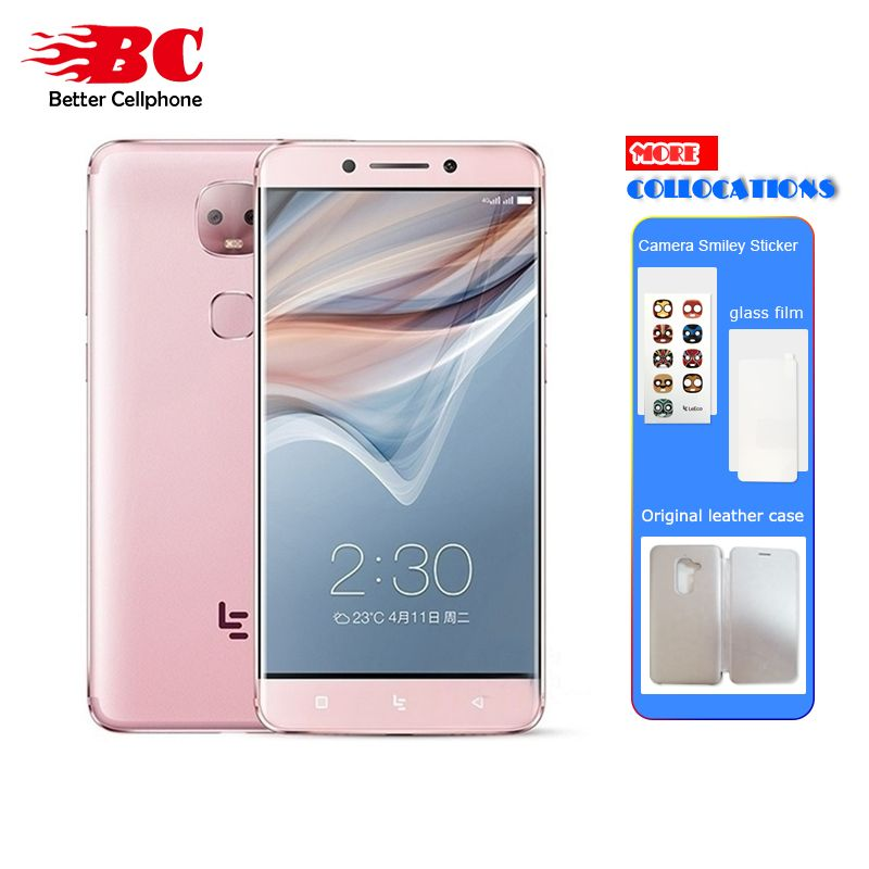 Original Letv LeEco Le Pro 3 X651 Dual Camera AI Edition Smart Phone Helio X23 Ten core RAM 4GB ROM 32GB 4000mAh 5.5 inch <font><b>13MP</b></font>