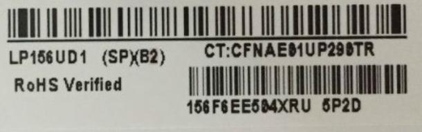 LP156UD1-SPB2 LP156UD1 SP B2 LP156UD1 (SP) (B2) IPS Led-bildschirm LCD Display Matte Matrix für Laptop 15,6