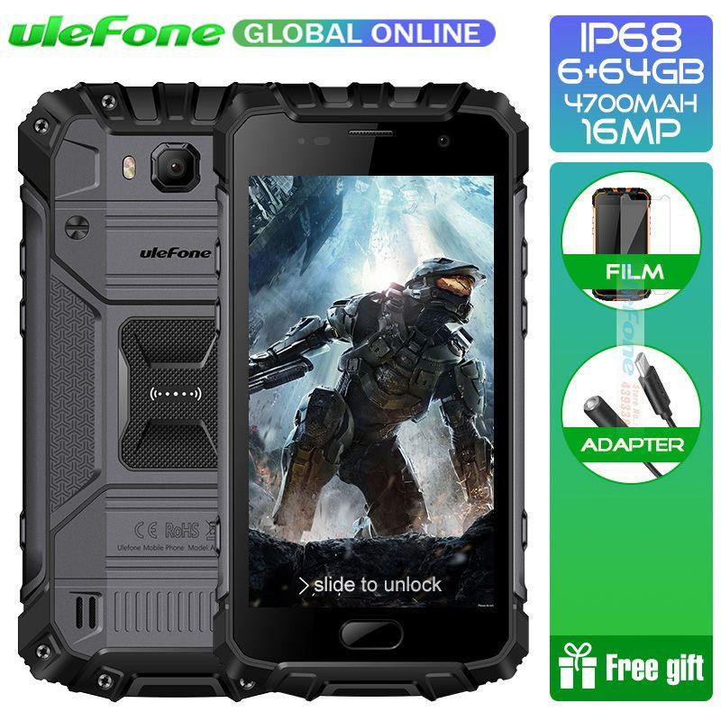 Ulefone Armor 2 IP68 Waterproof Smartphone Android 7.0 5.0
