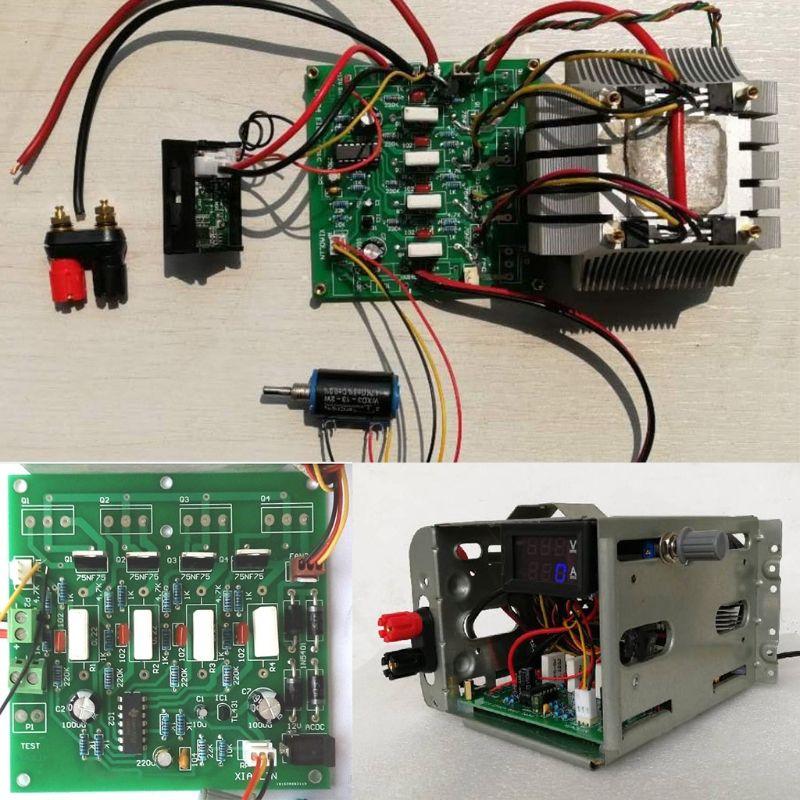 Test de capacité de décharge de batterie de testeur de charge électronique à courant Constant 150 W 10A