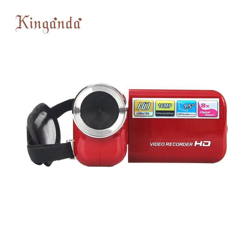 2016 Popular Portable Digital Video Camera 3 Color 1.5 Inch TFT 16MP 8X Digital Zoom Video Camcorder Camera HD DV #Dec7