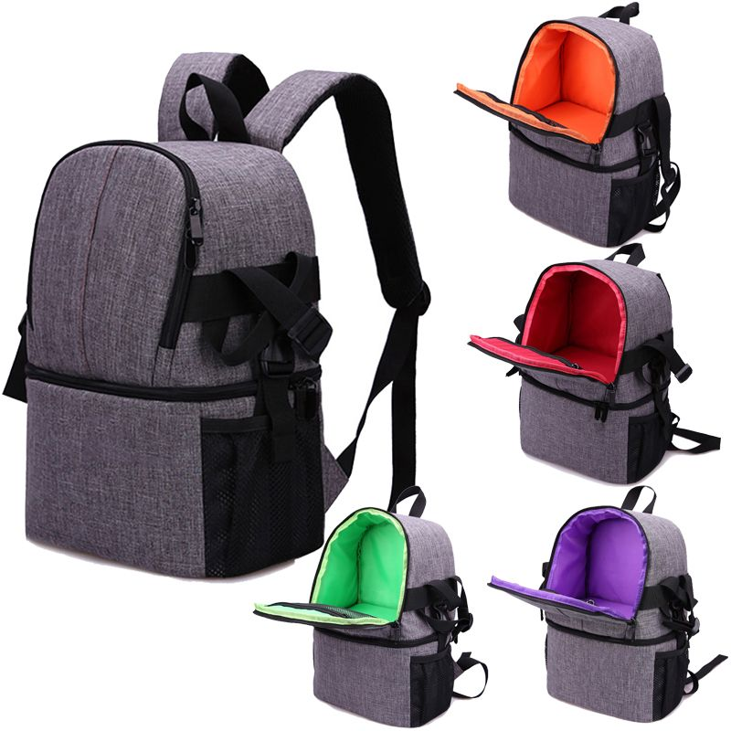 Travel backpack Photo Camera Bag Case Cover For Canon EOS 200D 77D 7D 80D 800D 1300D 6D 70D 760D 750D 700D 600D 100D 1200D 1100D