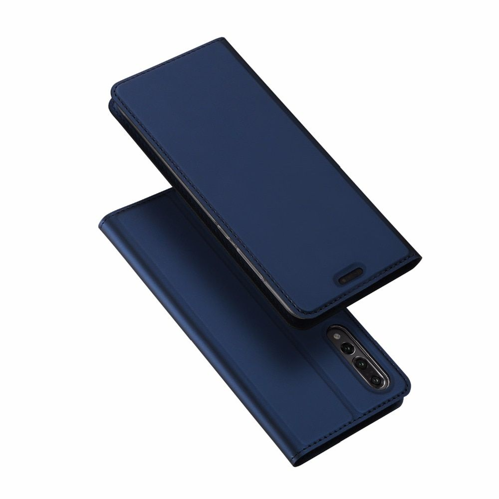 DUX DUCIS Flip Case for Huawei P20 Pro PU Leather TPU Soft Bumper Protection Card Holder Wallet Stand Cover Moible Phone Bag