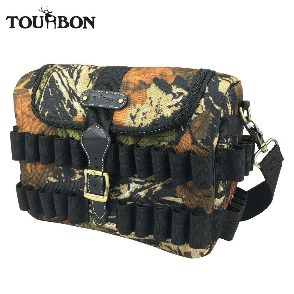 Ankunfts-tourbon Jagd Gun Zubehör Camo Patronen Tasche Taktische Geschwindigkeit Loader Schießen Ammo Bullet Case Klassische Design