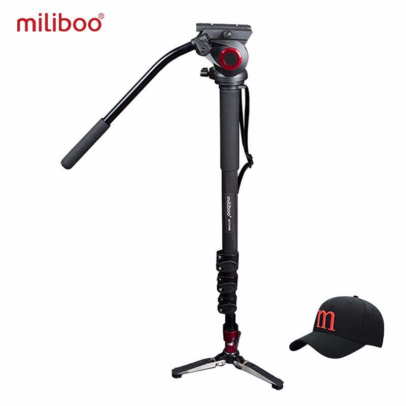 Miliboo MTT705B trépied et monopode Portable en Fiber de carbone pour caméscope professionnel/support vidéo/reflex numérique, moitié prix de Manfrotto