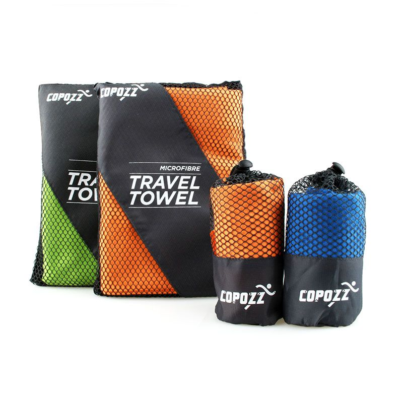 Quick dry schwimmen handtücher mikrofaser außen camping radfahren bade tragbare reise towel größe s (40*79 cm)
