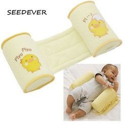Anti flat head baby pillow baby Crib Bumper nursing pillow Anti-rollover Cute Cartoon Anti-roll side Sleeper Sleep Positioner