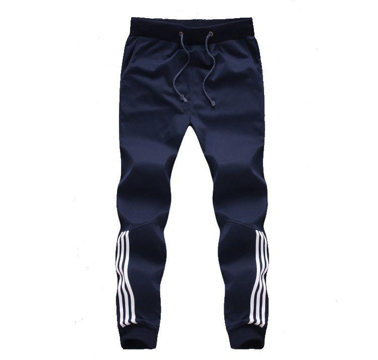 2017 New Fashion Tracksuit Bottoms Mens Pants Cotton Sweatpants Mens Joggers Striped Pants Gyms Clothing Plus Size 5XL