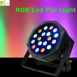 Kingoffer 12led 18led 54led Par RGBW Lumière De La Scène RGB Led 110 V 220 V Lumière de Pair Avec DMX512 DJ Équipements pour la Partie Disco