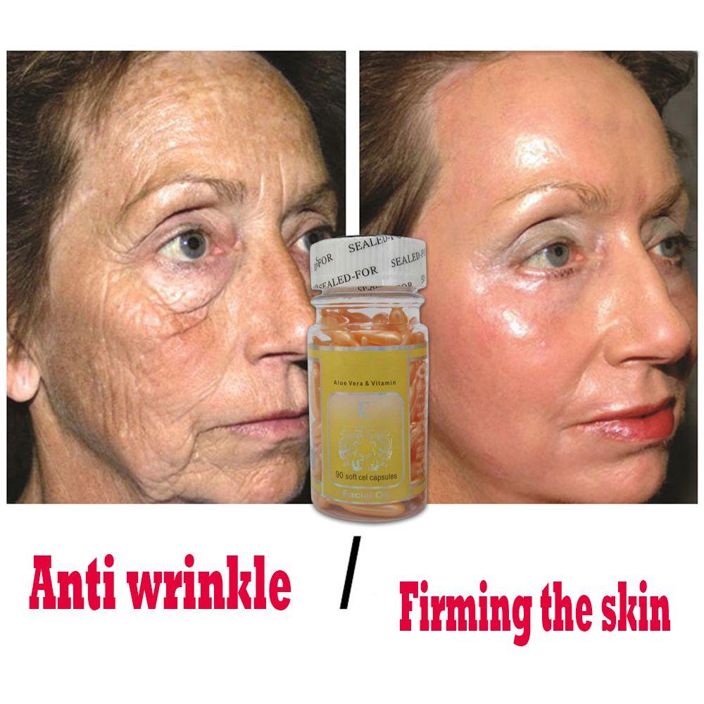 VITAMIN E 100% HYALURONIC ACID RETINOL Facial Serum Skin Care Anti-Aging Moisturizing Ageless Beauty Face Cream 90pcs
