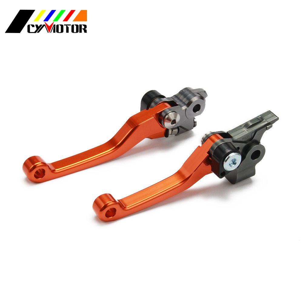 Motorcycle CNC Pivot Brake Clutch Levers For KTM SX SXS EXC SIX DAYS MXC EGS XC 125 200 250 300 360 380 Motocross Enduro