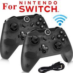 2 pcs/1 pc Sans Fil Bluetooth Gamepad Pro Contrôleur pour Nintend Interrupteur À Distance Joypad pour Nitendo Commutateur Vidéo Jeux jouer