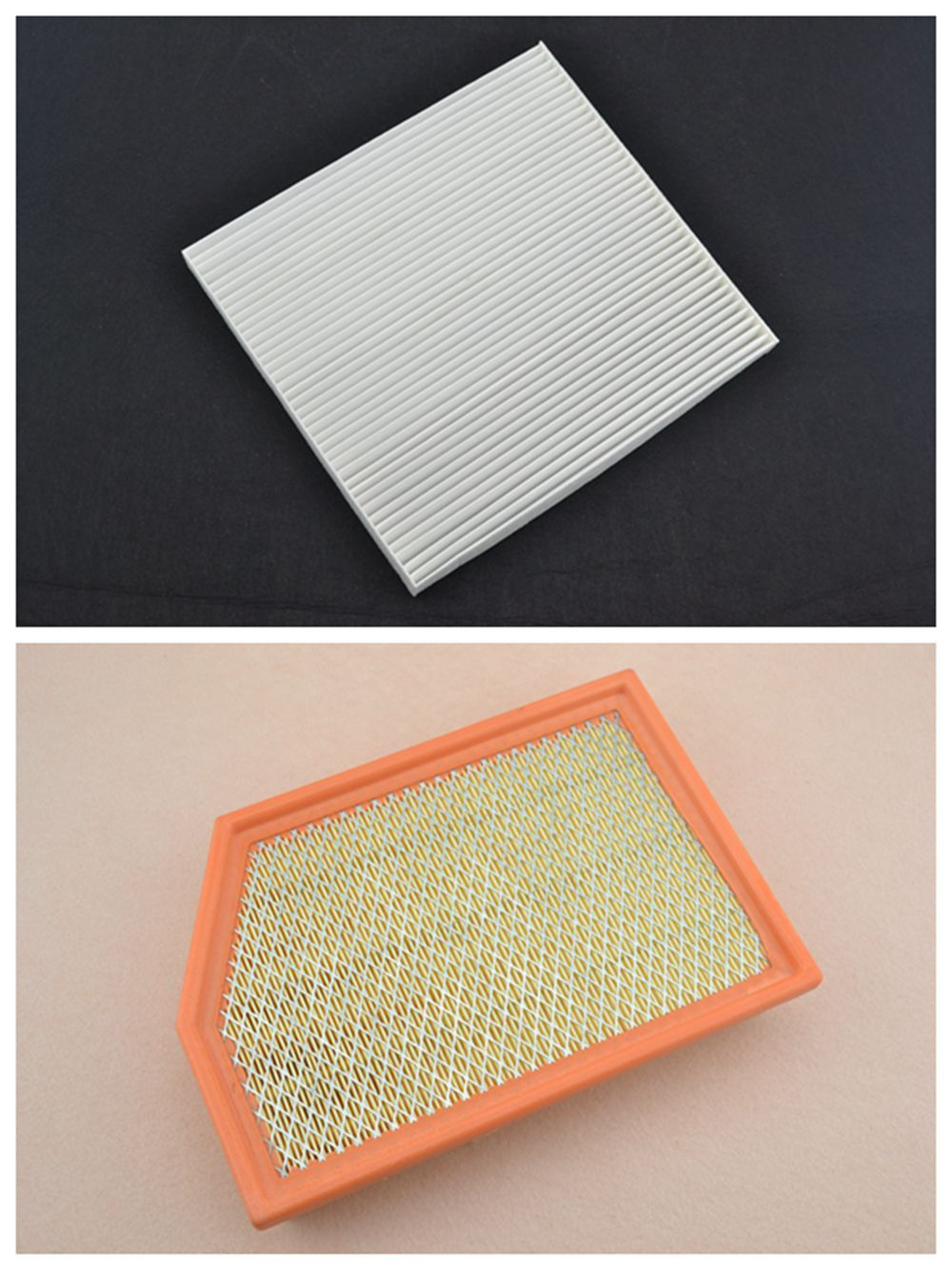 BBQ@FUKA OEM Quality Engine Air Filter & Cabin Air Filter fit for Jeep Cherokee 2014-2016 # 68223044AA/#52022378AA