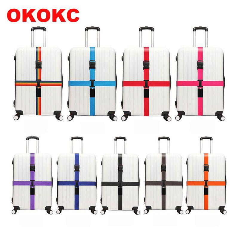 OKOKC Ourdoor Reise Praktische Gepäck Strap Einstellbare Gepäckband Gepäck Koffer Travel Zubehör