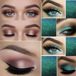 PHOERA Cosmétique Ombre À Paupières Palette Glitter Shimmer Poudre 24 En Option Couleurs Durables Disponibles Maquillage Résistant à L'eau