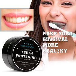 Blanchiment des dents 30g Activé Charbon De Bambou Poudre de Nettoyage De L'hygiène Buccale Dents Plaque Détartrage Taches Dent Poudre Blanche