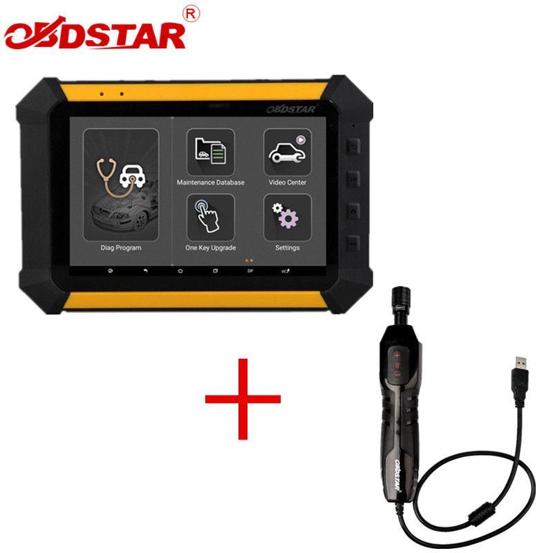 OBDSTAR X300 DP X-300DP PAD Tableta Clave Programador Configuración Completa Más OBDSTAR ET-108 ET108 USB Cámara de Inspección