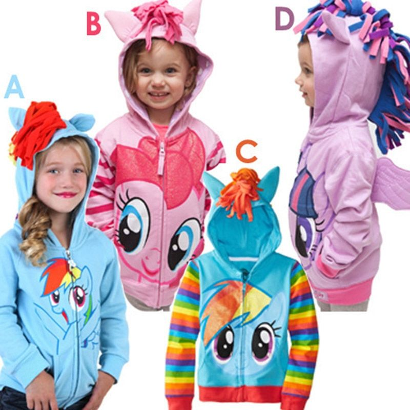 Baby Girls Jackets and <font><b>Coats</b></font> 2018 Spring Autumn Jacket For Girls <font><b>Coat</b></font> Kids Cartoon Hooded Outerwear <font><b>Coat</b></font> Children Clothes