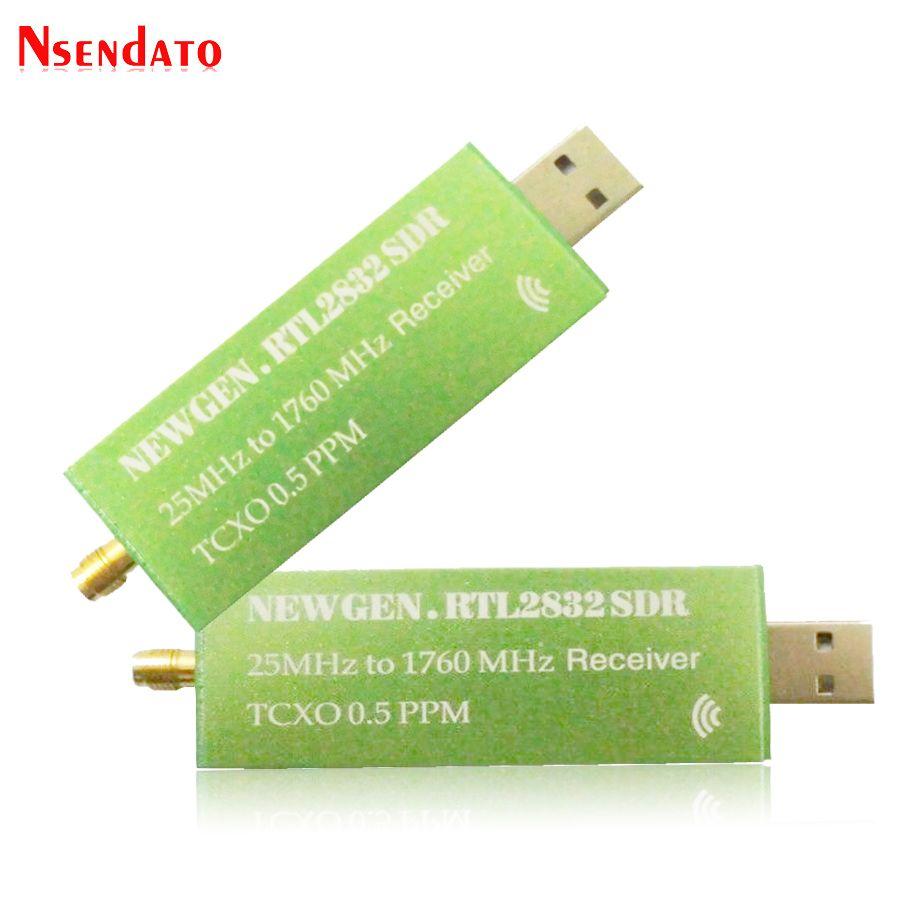 USB2.0 RTL-SDR 0.5 PPM TCXO RTL2832U R820T2 TV Tuner Stick AM FM NFM DSB LSB SW Software Defined Radio SDR TV Scanner Receiver