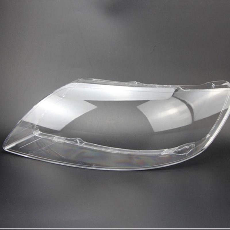 Auto lampenschirm für Audi Q7 2010-2015 objektiv Objektiv kunststoff Scheinwerfer transparent gehäuse Scheinwerfer schutz kunststoff