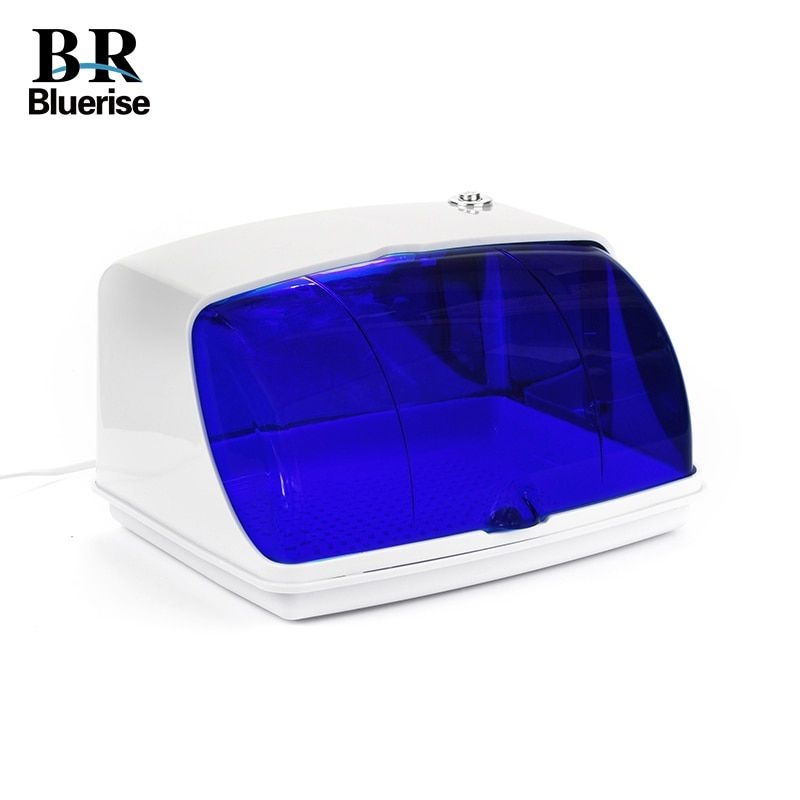 UV Sterilizer Professional Nail Art Disinfection & Clean Nail Art Equipment Tray Temperature Sterilizer Tool 220V EU Plug 9003