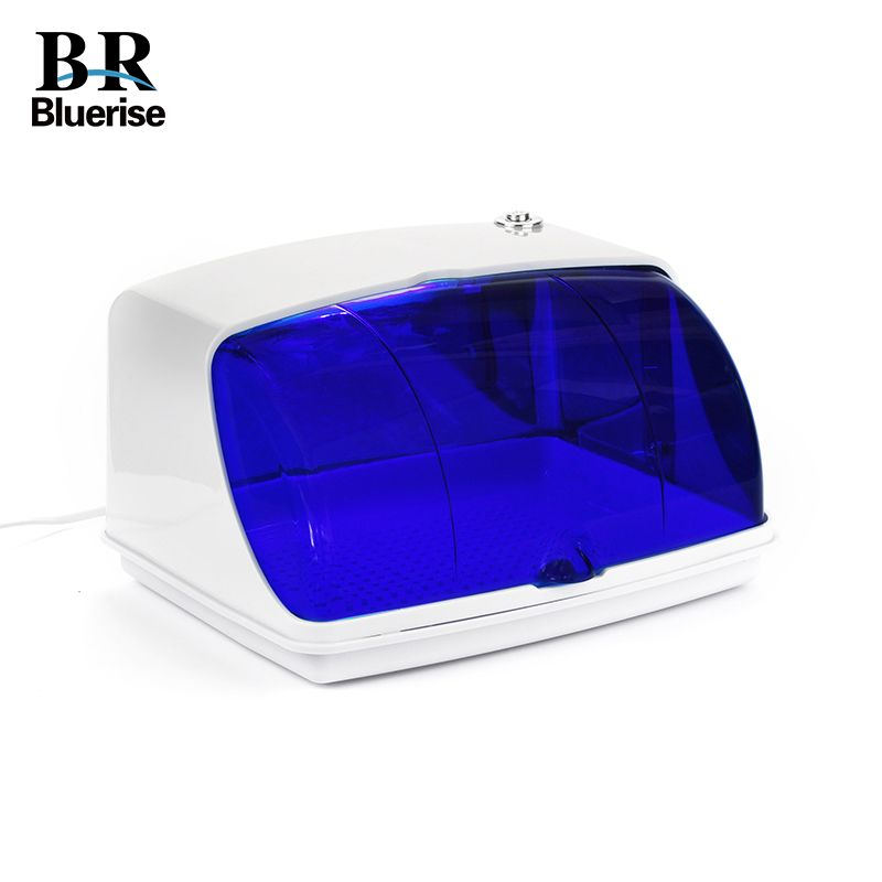 UV Sterilizer Professional Nail Art Disinfection & Clean Nail Art Equipment Tray Temperature Sterilizer Tool 220V EU Plug 9003