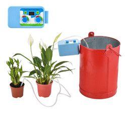 LED Pratique Micro Automatique Irrigation Set Fleurs Arrosage Des Plantes Minuterie Électronique Contrôleur Jardin D'eau Minuterie Home Office