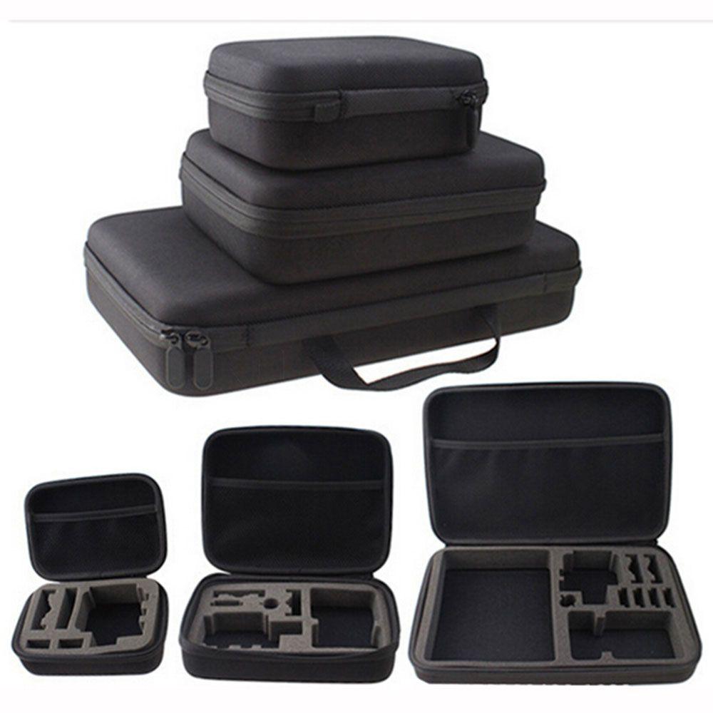 Portable Voyage Stockage Sac Photo Pour Gopro pour Xiaomi Yi Caméra D'action Pour Go Pro Hero 5 4 3 pour SJCAM SJ4000 SJ5000