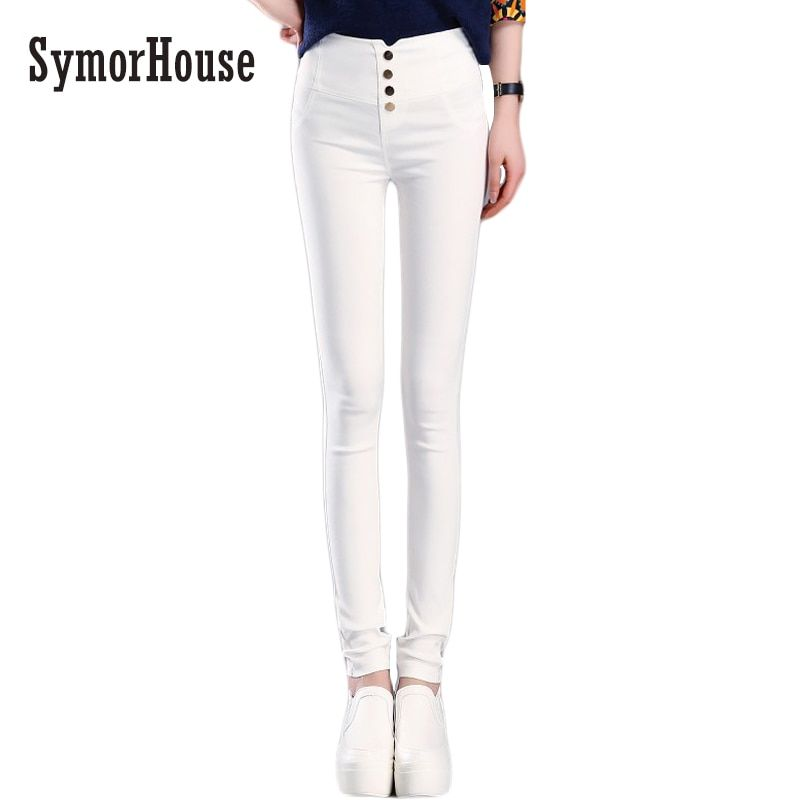 SymorHouse  Elegant Women's Casual Pants OL Work Wear Slim Stretch Pencil Pants Trousers Leggings Women/Female Plus Size bottoms