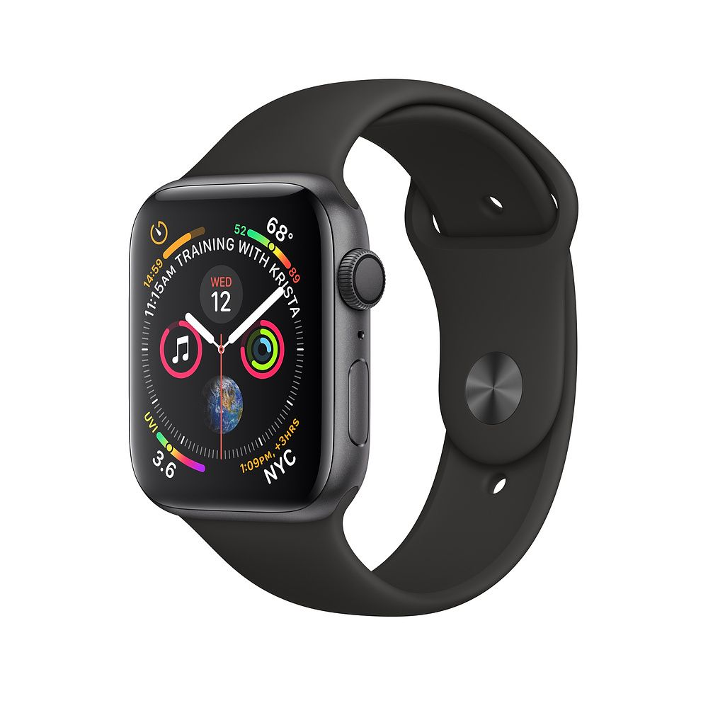 Apple Uhr Serie 4. | 50 M Wasserdichte Apple Smart Uhr GPS Band 40mm 44mm Smart Tragbare Geräte Bluetooth 5,0 Smartwatch