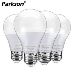 4 Buah/Banyak Lampu LED Bulb E27 3 W 5 W 7 W 9 W 12 W 15 W 18 W 110 V 220 V Lampada Ampul Bombilla LED Kecerahan Tinggi LED Lampu SMD2835