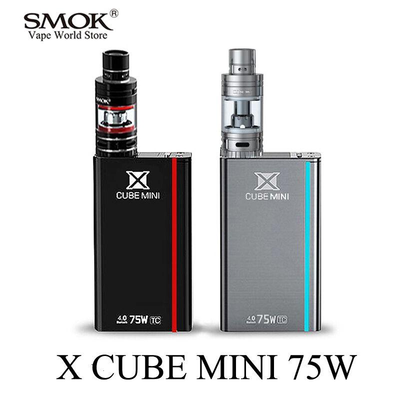 SMOK Vape Kit <font><b>Electronic</b></font> Cigarette XCUBE MINI Mech Box Mod E Cigarette Vaporizer VS iStick Pico SMOK Alien eVic VTC MinI S021