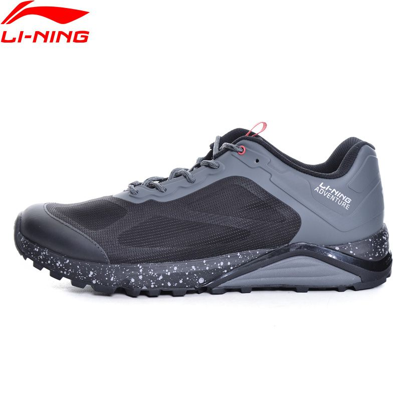 Li-Ning Men Revenant ITF Trail Running Shoes Outdoor Sneakers Cushion Anti-Slippery LiNing Adventure Sports Shoes ARDM009 XYP601