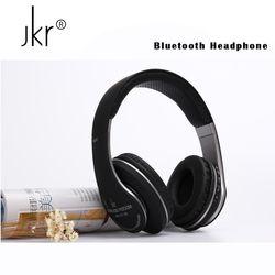 Jkr Stereo Casque Audio Auricular Cordless Wireless Blutooth Headphones Bluetooth Earphone For Phone Big Headset Head Sluchatka