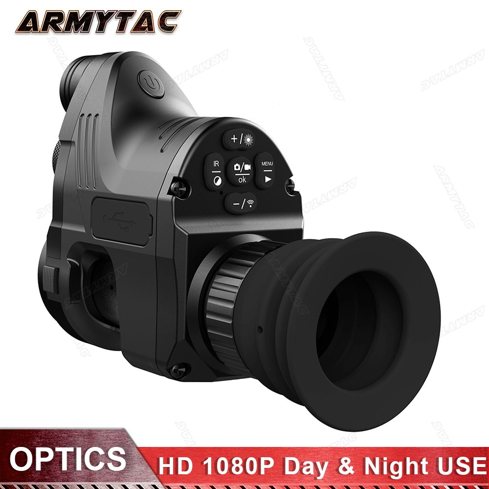 PARD Infrared Night Vision Telescope Hunting Night Vision Set Sight Digital HD, QD IR Monocular Riflescope Hunting Special NV007