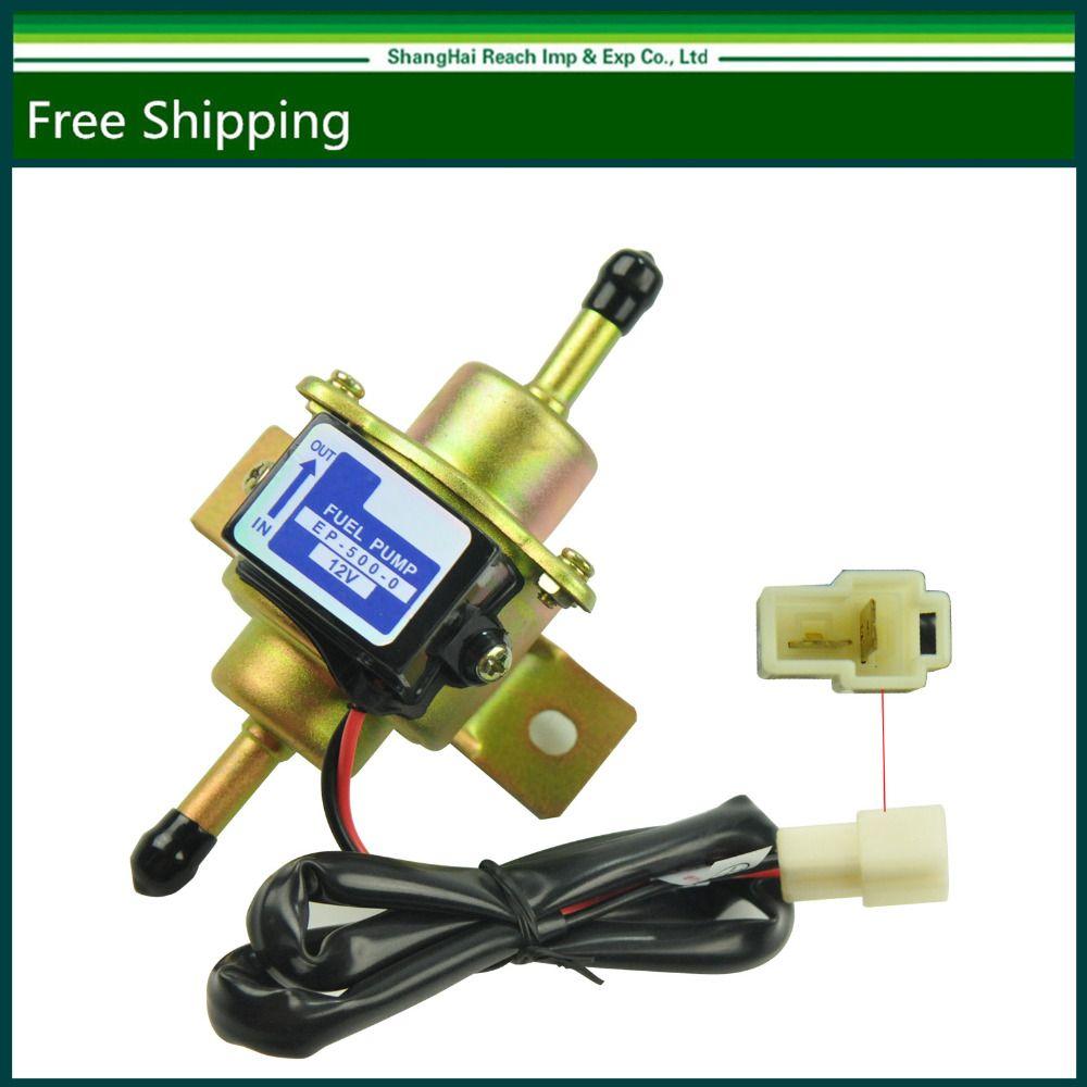 New Universal Low Pressure Gas Electric liquid  Fuel Pump 12V EP5000