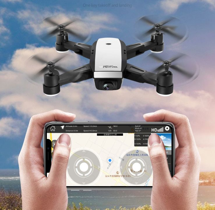 RC Foldable Drone GPS WiFi HD Camera FPV Altitude Hold Mode Folden dron Remote control quadcopter children Aircraft quad Selfie