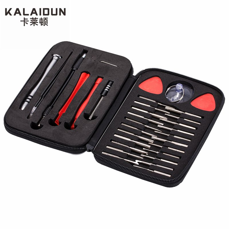 KALAIDUN 32 in 1 precision multi-function <font><b>screwdriver</b></font> set maintenance of mobile phones small computer disassemble hand tools set