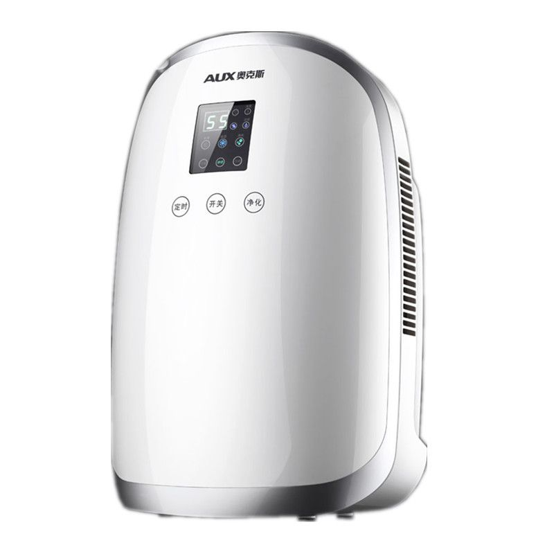 Automatic Defrost Dehumidifier Air Dryer 110W 1700ML Home Bathroom Office Absorbing LED Display Timing Anion Purifier