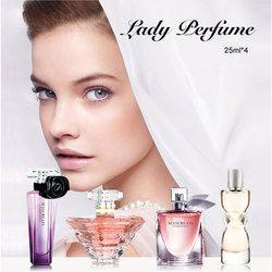 Maycrear perfumes originales mujeres perfume atomizador botella de perfume de cristal señora flor fragancia perfume marca 1 Unidades