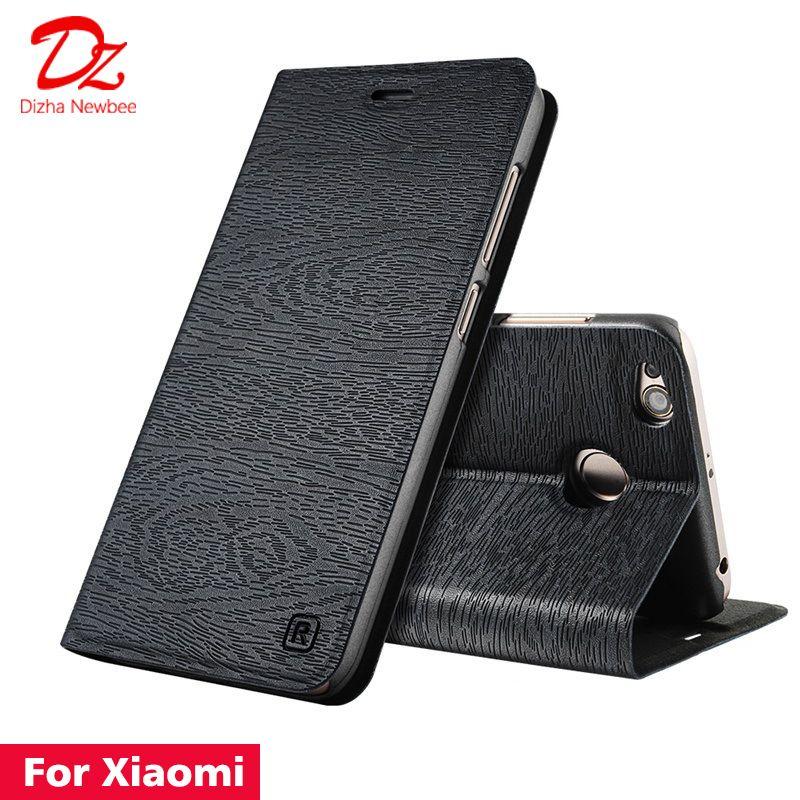For Xiaomi Redmi 4 6 Pro 4A 4X 5 5A 6A S2 Redmi Note 5 pro 4 4X 5A 3 Leather Case for Redmi 5 Plus PU Flip cover card slot stand